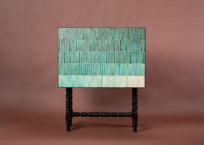 Gradient cabinet turquoise 2018